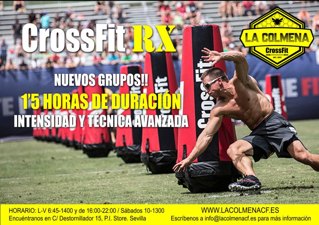 Nuevos Grupos de  CrossFit RX